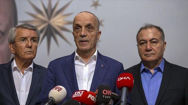 Türk iş Başkanı Ergün Atalay