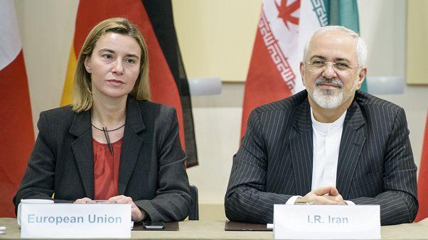 گام سوم کاهش تعهدات برجامی در نامه ظریف به موگرینی؛ مهلت جدید شهریور