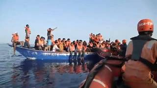 44 migrants secourus en mer par un navire de sauvetage allemand