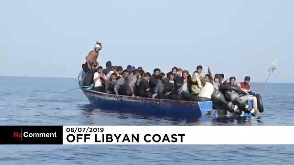ویدئو؛ لحظه نجات ۴۴ پناهجو از سوی کشتی آلان کوردی