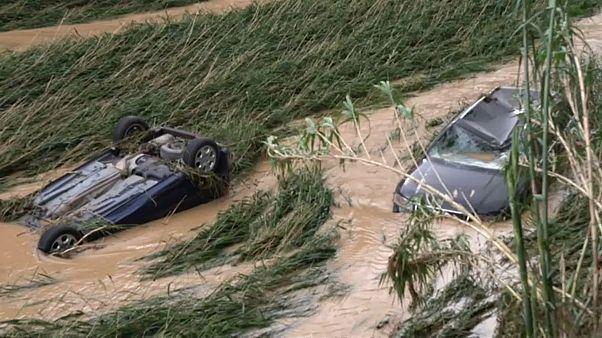 Le nord de l'Espagne se remet lentement de violentes inondations