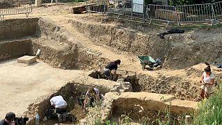 La fouille de la Visitation, une mine de trésors antiques à Lyon