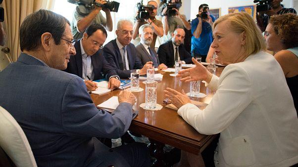 ΠτΔ – Συνάντηση με Elizabeth Spehar - Οικία Προέδρου Δημοκρατίας, Λεμεσός, Κύπρος