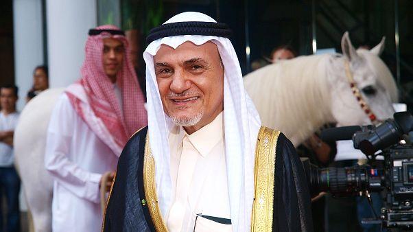رئيس الاستخبارات السعودي السابق الأمير تركي الفيصل بن عبد العزيز آل سعود. أيار 2010