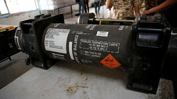 Fransa: Libya'da ele geçirilen füzeler hasarlı olduğu için depoya kaldırılmıştı