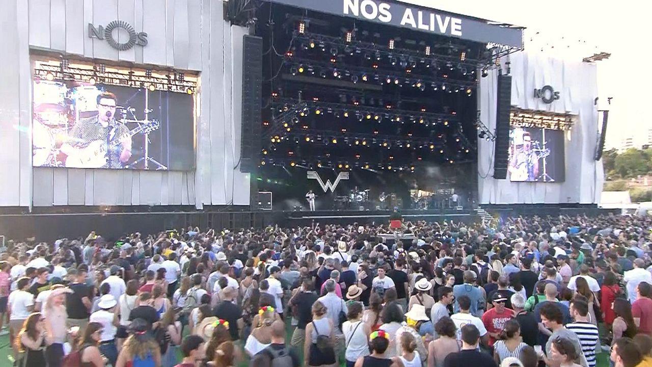 """150.000 Besucher beim """"NOS alive"""" Festival in Portugal"""