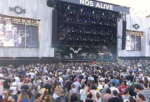 Musica e impegno sociale al Festival Nos Alive di Lisbona