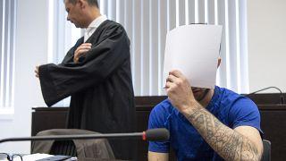علی بشار پناهجوی عراقی در دادگاه
