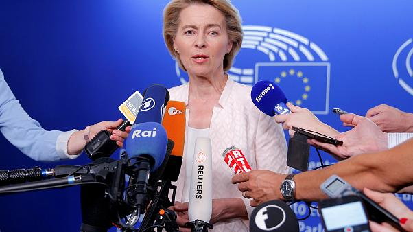 Ursula von der Leyen makes rounds through political groups, tries to gain support