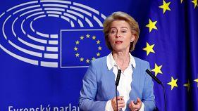 Vita Ursula von der Leyenről az Európai Parlamentben