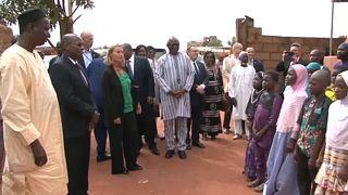 Mogherini in der Sahel-Zone