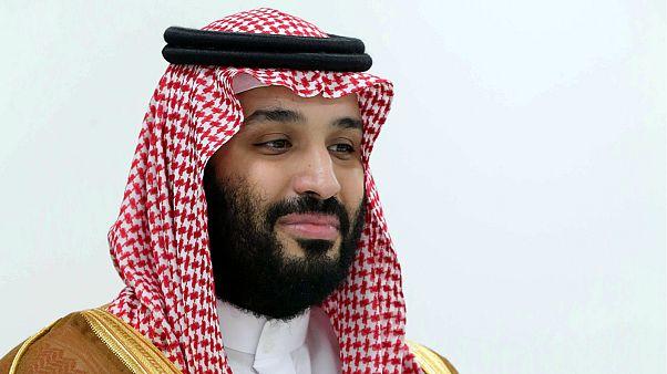 Saudia Arabia's Crown Prince Mohammed bin Salman