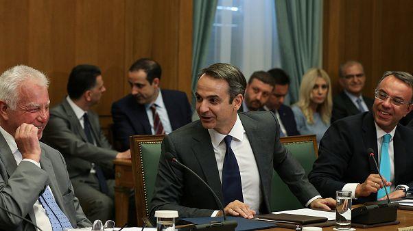 Novo executivo grego inicia trabalhos