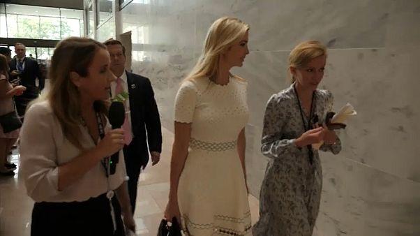 إيفانكا إبنة الرئيس الأمريكي دونالد ترامب