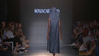 Watch: Sustainable fashion designers dominate the catwalk in Barcelona