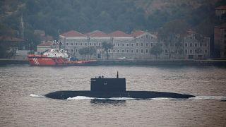 الغواصة الروسية كراسنودار قبالة سواحل اسطنبول