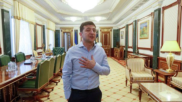Ukrayna Devlet Başkanı Volodymyr Zelenskiy