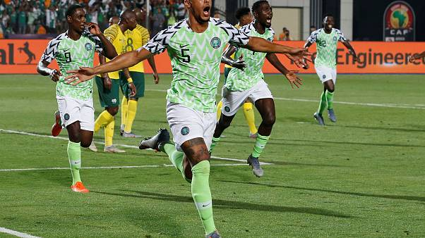 II gol vittoria della Nigeria di William Troost-Ekong.