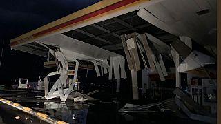 Двое россиян погибли во время шторма в Греции