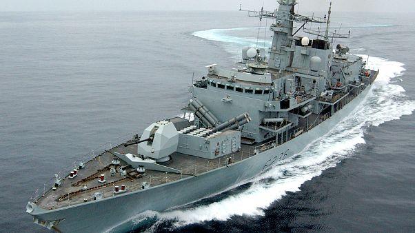 Irán meg akart állítani egy brit tankert a Hormuzi-szorosban