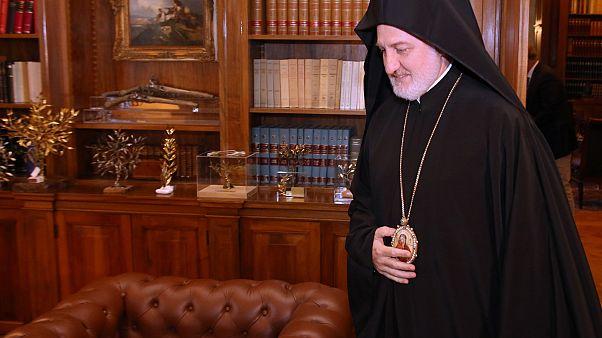 Ο πρόεδρος Τραμπ συγχαίρει τον Αρχιεπίσκοπο Ελπιδοφόρο