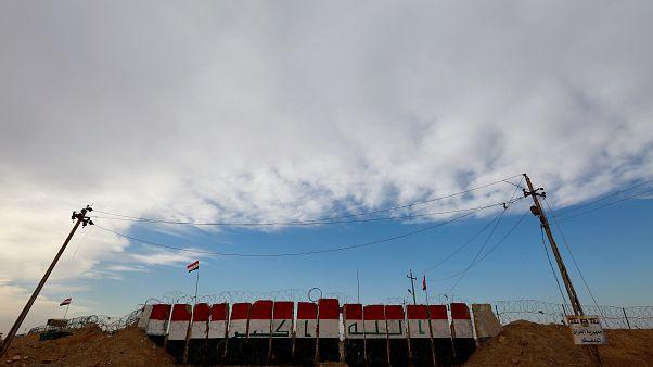معبر البوكمال - القائم البوابة الحدودية بين العراق وسوريا. تشرن الثاني/نوفمير 2018