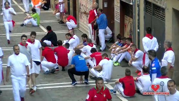Zweieinhalb Minuten und 5 Verletzte in Pamplona