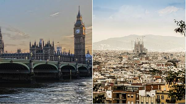 Could London be as hot as Barcelona by 2050? Climate comparison study says it could