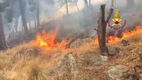 إيطاليا: حرائق في صقيلية وعواصف رعدية شمال شرق للبلاد