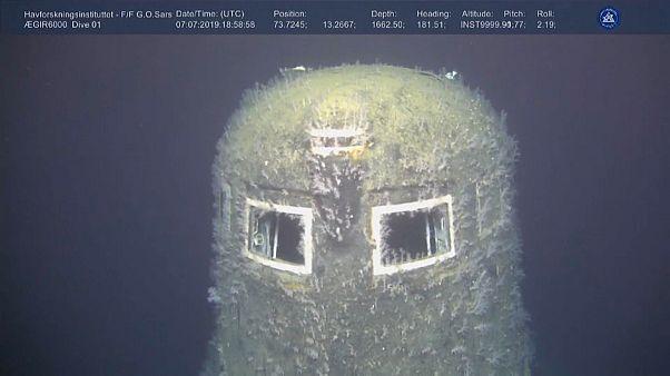 Norvegia: perdite radioattive dal sottomarino Komsomolec, 30 anni dopo