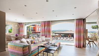 We stayed at the first 5-star hotel in Saint-Tropez