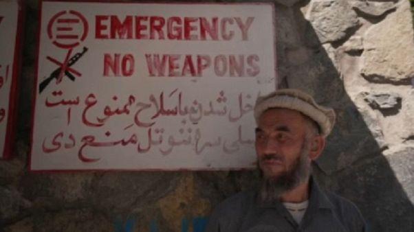 Civilek szenvednek az afgán háborútól
