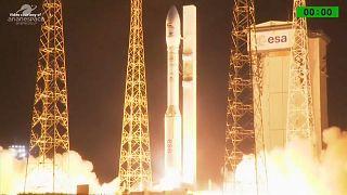 Arianespace rate le quinzième lancement de la fusée Vega