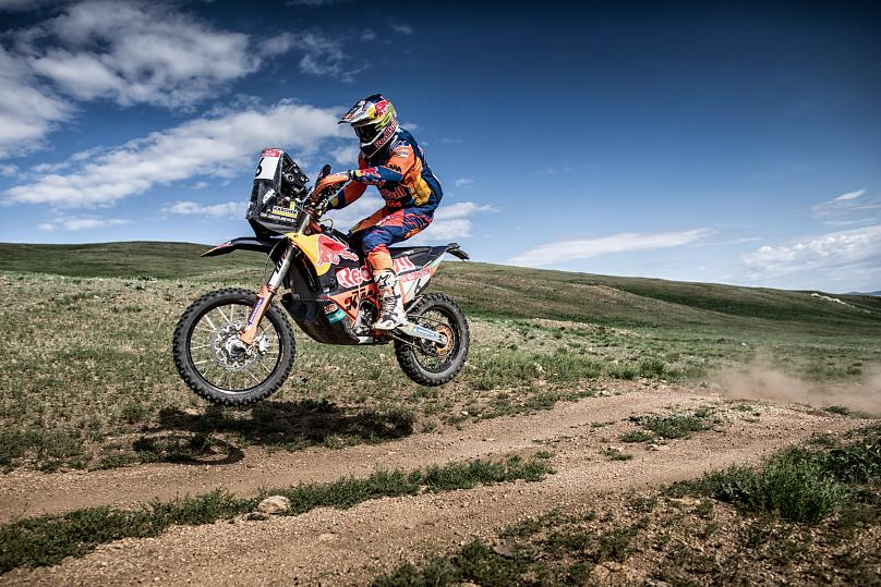 Anton Elikov © Silk Way Rally
