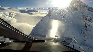 Video   Yedi kişinin öldüğü iki aracın havada çarpıştığı kazanın görüntüleri ortaya çıktı