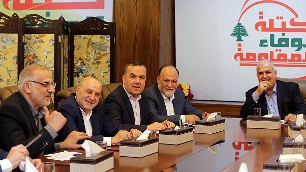أعضاء كتلة حزب الله بالبرلمان اللبناني