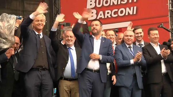 Orosz pénzt kaphattak Salviniék
