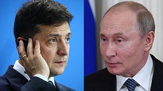 Putin ve Zelenskiy telefonda Kırım'ın ilhakı ve Ukrayna'nın doğusundaki çatışmaları görüştü