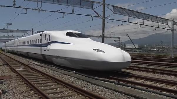 القطار الياباني الجديد