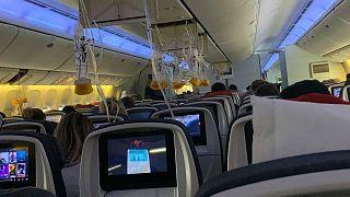 35 человек пострадали от турбулентности во время полета Air Canada