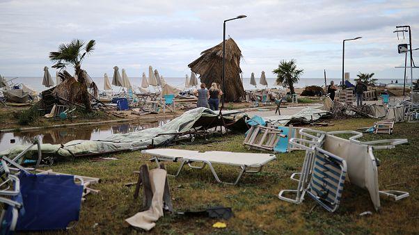 Χαλκιδική : Αποκατάσταση ζημιών και ηλεκτροδότησης
