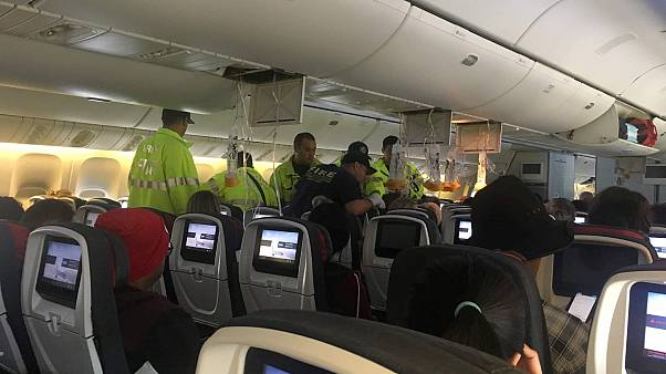 An Air Canada flight was diverted after it hit turbulence over the Pacific Ocean in July.