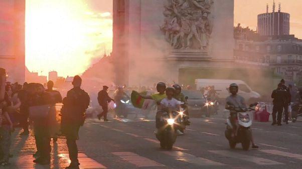 Nach Sieg von Algerien: Eine Tote und Krawalle in Frankreich