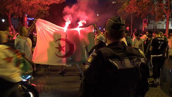 Noche de caos, destrozos y detenciones en Francia