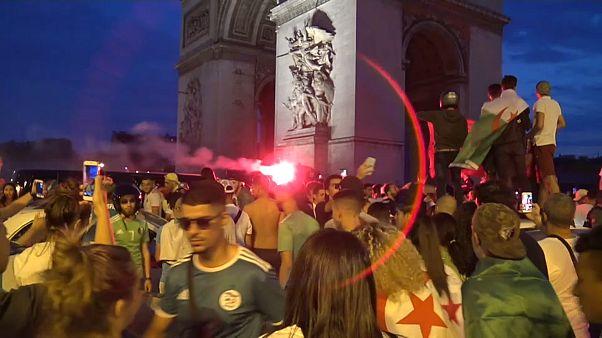 Франция: погромы после победы сборной Алжира