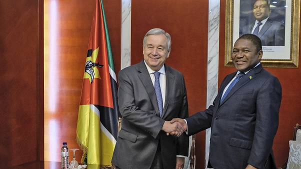 """Guterres: """"Moçambique tem autoridade moral para exigir um forte apoio"""""""