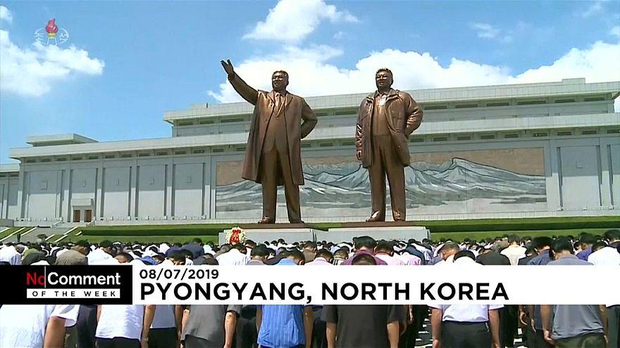 Haftanın No Comment'leri: Samandan heykeller, Kim Il Sung'un ölüm yıldönümü ve Dünya Kupası