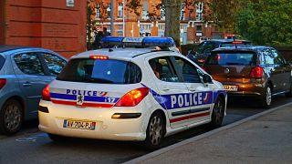 آلية تابعة للشرطة الفرنسية في مدينة تولوز