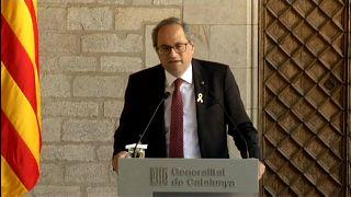 El presidente independentista catalán será juzgado por desobediencia por los lazos amarillos