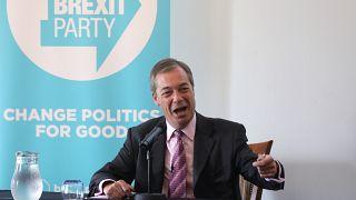 How is Nigel Farage's Brexit Party winning the social media battle?